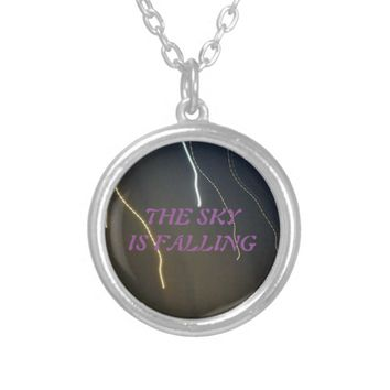 THE SKY IS FALLING NECKLACE
