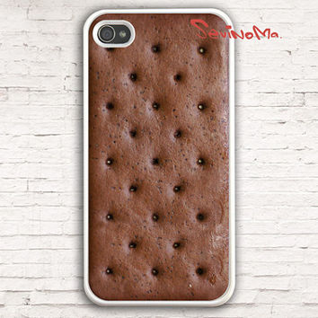 Ice Cream Sandwich - iPhone 4 Case, iphone 4s case, Pattern Print iphone hard case for iphone 4, iphone 4S