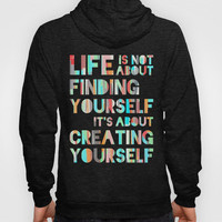 Create Yourself Hoody by Jacqueline Maldonado | Society6
