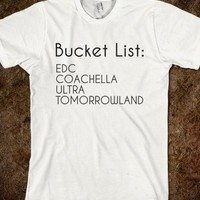Electro Bucket List - Radical Thinking