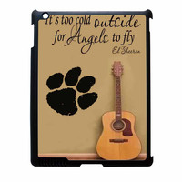 Ed Sheeran Guitar And Song Quotes iPad 2 Case