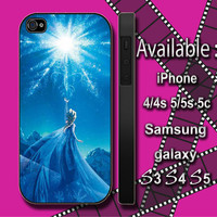disney frozen elsa custom design hard plastic available for iphone 4/4s,5/5s/5c and samsung galaxy S3/S4/S5 case