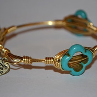 Made With Love: Moroccan Teal Bangle