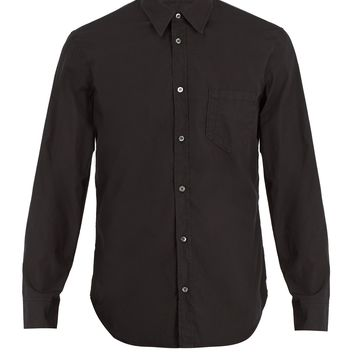 Point-collar cotton shirt | Maison Margiela | MATCHESFASHION.COM UK