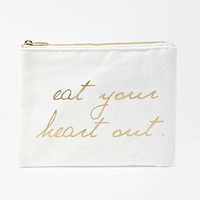 Your Heart Canvas Pouch