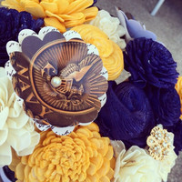 Military Bouquet - Navy