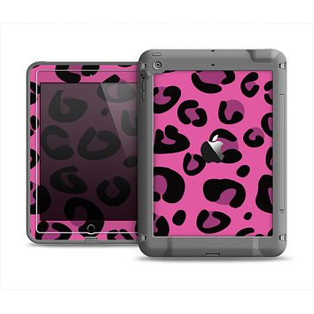 The Pink Vector Cheetah Print Apple iPad Mini LifeProof Fre Case Skin Set