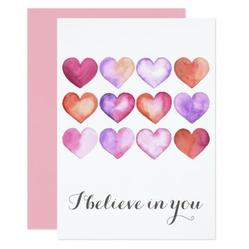 I Believe in You - Valentine's Day Card Template