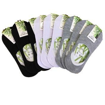 10Pairs Women's Socks Short Fashion Invisible Socks For Women Brief Invisible Slippers Shallow Mouth No Show Low Cut Socks Woman