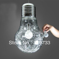big bulb lights Picture - More Detailed Picture about Big bulb pendant light restaurant lamp modern brief style corridor lights lamps Diameter250/300mm Picture in Bras from Paul's pendant light store.