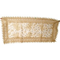 Organza Floral Embroidered Table Runner