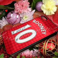 wayne rooney jersey team - for iPhone 4/4s, iPhone 5/5s/5c, Samsung S3 i9300, Samsung S4 i9500 Hard Case **