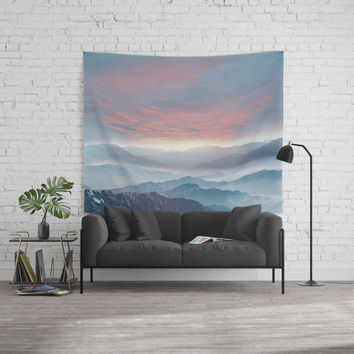 Pastel vibes 72 Wall Tapestry by vivianagonzalez
