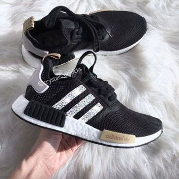 Adidas NMD NMD R1 W Glittering Breathable Running Sports Shoes Sneakers  Shoes 7cd10608f7