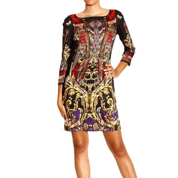 ROBERTO CAVALLI jersey viscose fabric,100% authentic fabric for dress, skirt, made in italy