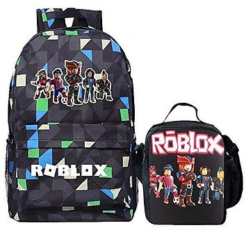 Roblox Backpack Insulated Lunch Box