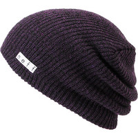 Neff Daily Black & Purple Heather Beanie