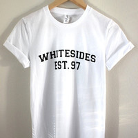 Whitesides Est. 97 White Graphic Unisex Tee