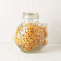 Glass Fins Canister