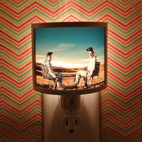 Breaking Bad Night Light 4 designs to Choose from by TakeItWith