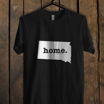 South Dakota Home Art T Shirt Mens T Shirt and Womens T Shirt *
