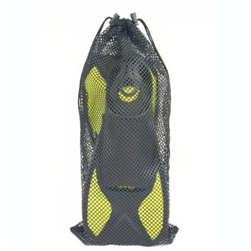 Durable Mesh Pouch Drawstring Bag Outdoor Diving Surfing Swimming Snorkeling Fins Footwear