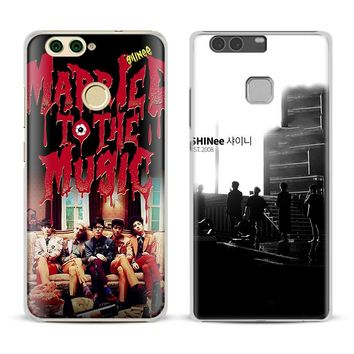 SHINee KPOP Boy group Phone Case For Huawei P8 9 10 Lite 2017 Honor 6x 8 V8 V9 V10 Mate 7 8 9 10 Pro Nova Plus 2 Cover Shell