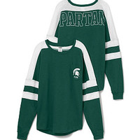 Michigan State University Varsity Pocket Crew - PINK - Victoria's Secret