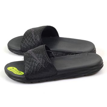 Nike Benassi Solarsoft Slide Sandals Slippers Sports Black/Anthracite 705474-091