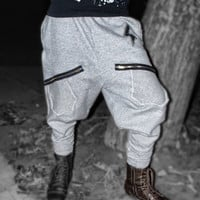 No CREDIT CARDS The STASH Pocket Sweatpants are Back Harem Sweatpants for Dancers & Anyone else Sizes Small or Medium