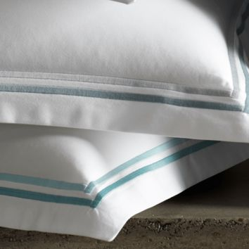 Essex Aquamarine Hotel Bedding by Matouk | CLEARANCE