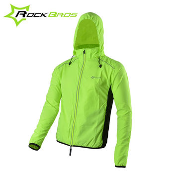 ROCKBROS Reflective Breathable Bike Bicycle Cycling Cycle Long Sleeve Wind Coat Windcoat Windproof Quick Dry Jersey Jacket