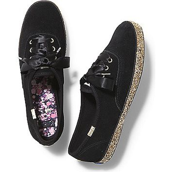KEDS X kate spade new york CHAMPION GLITTER FOXING