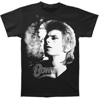 David Bowie Men's  1972 Slim Fit T-shirt Black