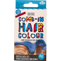 River Island Girls blue comb-in hair color