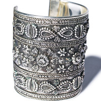 Western Fashion The Alchemist Cuff Antique Silver One