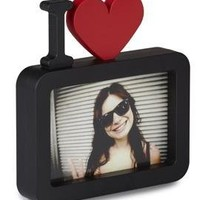 Umbra Ulove 4-Inch-by-6-Inch Molded Picture Frame