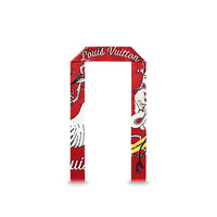 Products by Louis Vuitton: Red Crane Scarf