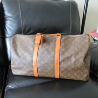 Authentic Vintage Louis Vuitton Keepall 50 Duffel travel bag