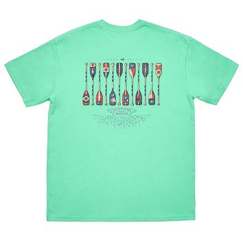 River Route Collection - Paddles Tee by Southern Marsh