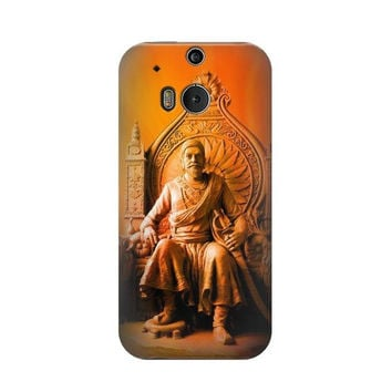 P1104 Shivaji Maharaj Comes Marathas Case For HTC ONE M8