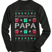 Papa Ugly Christmas Sweater