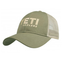 Yeti Trucker Hat - Olive/Tan