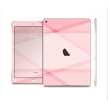 The Subtle Layered Pink Salmon Skin Set for the Apple iPad Air 2