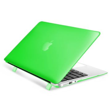 Apple Macbook Air 13 inch Case, by Insten Crystal Hard Snap-in Case Cover For Apple Macbook Air 13 inch, Green
