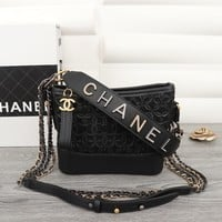 Chane Chanl Double C Women leather Crossbody Bag Handbags with gold silver Chain Evening Crossbody Bag, Designer Shoulder Bag for ladies