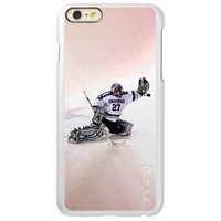 Ice Hockey Goalkeeper With Your Name Drawing Incipio Feather® Shine iPhone 6 Plus Case