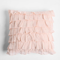 Urban Outfitters - Waterfall Ruffle Pillow