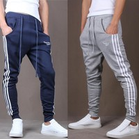 Summer Korean Pants Sportswear Slim Skinny Pants [6533773767]