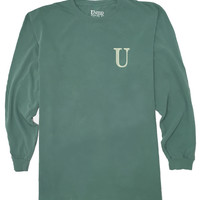 Forrest Green Long Sleeve Tee (2XL Only)